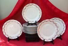 Ancienne porcelaine de Limoges Ahrenfeldt douze assiettes