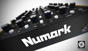 Numark - Decal Sticker - Mixer / Record Box