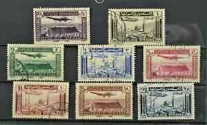 SYRIA STAMPS AIRMAIL SET OF 8 USED  (K3)