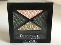 Rimmel London Glam Eyes Quad Eye Shadow ~ Green Sapphire 024