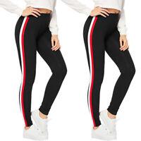 Damen Hosen Jogginghose Stoffhose Stretch Trainingshose Sporthose Freizeithose