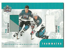 1999-00 ITG BAP UPDATE - RAY BOURQUE - BRIAN LEETCH - 3 COLOR TEAMMATES JERSEY
