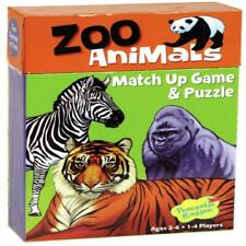 Matching Game Zoo Animals Memory Puzzle Kids Toddler Learn Gift Boy Girl Toy NEW