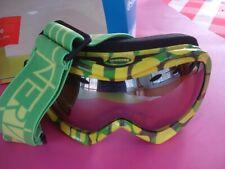 Optic Nerve Goggles Ski Snowboard Winter Sports Neon Camoflauge Ew