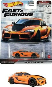 2021 Hot Wheels Fast & Furious Premium Fast Superstars Toyota GR Supra GRL80