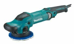 Makita RANDOM ORBITAL POLISHER PO6000C 900W 150mm Dual Mode, Side Handle