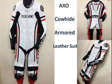 AXO Motorcycle Leather Suit Motorbike Leather Suit Riding Suits Racing Suits