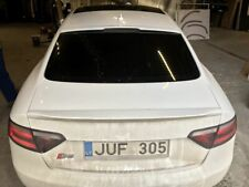 FIBERGLASS A STYLE REAR WINDOW SPOILER LIP FOR AUDI A5 B8 MODELS