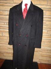 Vito Rufolo Sz 48 R 100% Cashmere Dress Coat Charcoal Gray Ultra Plush Career