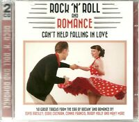 ROCK 'N' ROLL AND ROMANCE CAN'T HELP FALLING IN LOVE - 2 CD BOX SET SANDY & MORE
