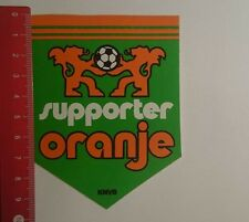 Aufkleber/Sticker: KNVB supporter Oranje (261216125)