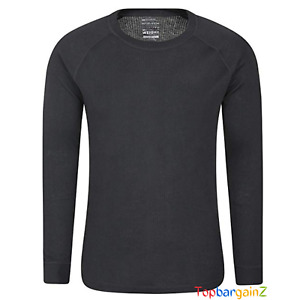 Mens Long Sleeve Round Neck Top Thermal Baselayer Mountain Warehouse Breathable