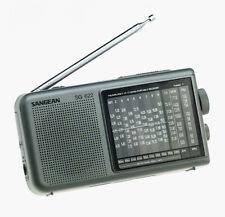 Sangean AM/FM Stereo/SW 1-10 Analog Tuning SG-622 FM Radio NEW