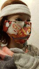 Gesichtsmaske Mund- Nasenabdeckung Maske Erwachsene Weihnachtsmann Gitarre Weihn