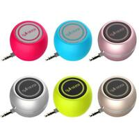 Mini Universal Phone Speaker 3.5mm AUX Jack Stereo Music Audio Player Sound Box