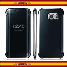 Funda Smart Clear View Transparente Flip Para Samsung Galaxy S6 EDGE