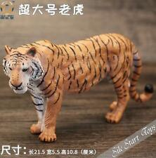 Hand Painted Creative Home Furnishing Resin Lifelike tiger Statue Sculpture a35