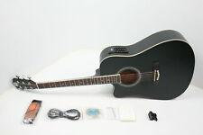 "Vangoa Left Handed Acoustic Electric Cutaway Guitar 41"" Full Size Beginner Kit"