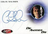 James Bond Mission Logs Colin Salmon as Charles Robinson Autograph Card A174