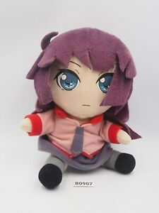 """Bakemonogatari B0907 Hitagi Senjougahara SEGA Plush 7"""" Toy Doll Japan"""