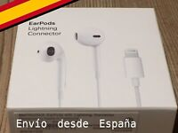 EARPODS  conector LIGHTNING Auriculares iPhone  7, 8,  11, X, XR, 12...