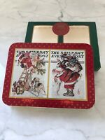 Vintage Saturday Evening Post 2 Decks Limited Edition Playing Cards Collectible