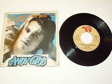 """ANDY GIBB """"I JUST WANT TO BE YOUR EVERYTHING"""" disco 45 gg RSO It 1977 BEE GEES"""