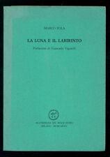 POLA MARCO LA LUNA E IL LABIRINTO ALL'INSEGNA DEL PESCE D'ORO 1985 ACQUARIO 151