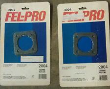 "Fel-Pro 2004 collector gaskets 2-1/2"" diameter four 4 bolt 3-5/16"" bolt circle"