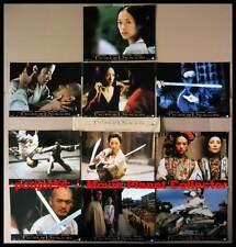 TIGRE ET DRAGON - Yun-Fat,Yeoh,Ziyi,Lee - JEU 10 PHOTOS / 10 FRENCH LOBBY CARDS