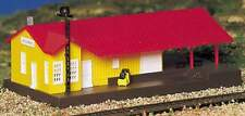 BACHMANN TRAINS FREIGHT STATION  N SCALE BUILT-UP BUILDING