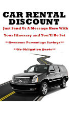 Rental Car Discount--You Pick The Date We'll Supply the Rate!--