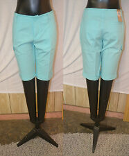 DKNY Jeans Women's Cuffed Bermuda Shorts-BLUE-10-NWT