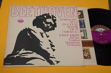 BEETHOVEN LP SYMPHONY 3 1°ST ORIG USA 1960 EX EVERST 6087 DEEP GROOVE