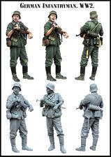 Evolution Miniatures 1:35 WWII German Infantryman Resin Figure Kit #EM-35141