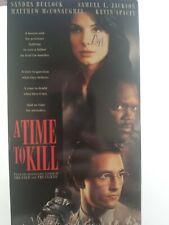 A Time To Kill (VHS, 1996) Matthew Mc Conaughey, Sandra Bullock Samuel L Jackson