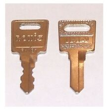 Ronis keys cut to code SM001 - SM400 filing cabinet/ desk drawer /pedestal lock