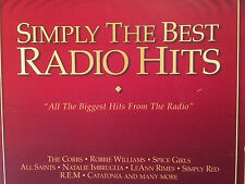 """""""SIMPLY THE BEST RADIO HITS""""-40 TRACKS-REM-CORRS-SPICE GIRLS-CHER-BRAND NEW 2CD"""