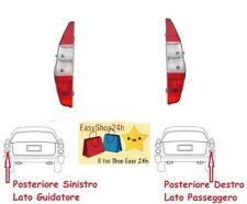 2 X FARO FANALE FANALINO POSTERIORE PER FIAT DOBLO 2000 2005 STOP GRUPPO OTTICO
