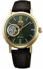 Orient Unisex Watch Classic Stylish Smart Semi Skeleton WV0451DB Automatic Green