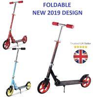 Adult Urban Folding Suspension Town Commute Scooter Street Wheel 200mm Kick