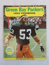 "The World Champion GREEN BAY PACKERS 1983 YEARBOOK ""The Pack Will Be Back"""