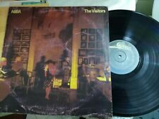 LP ABBA THE VISITORS 1981 ITALY CON INNER SLEEVE  COVER GOOD+ VINILE VG+