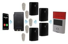 Covert Battery 3G GSM Alarm - 4 x Outdoor PIR's with Sirens - 1 x Solar Siren