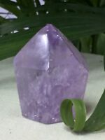 Polished Amethyst Point Cluster Geode Crystal Quartz Amethyst Specimen Reiki.