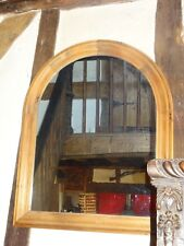 Archtop Pine Mirror - 92 cm high x 74 cm wide