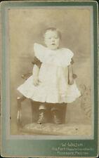 Preston. Young Girl by W Walton  Carte de Visite Photograph CDV  DA.345