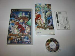 Hexyz Force Japanese Playstation Portable PSP Japan import US Seller