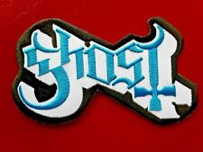 GHOST SWEDISH HEAVY DEATH METAL ROCK MUSIC BAND EMBROIDERED PATCH UK SELLER