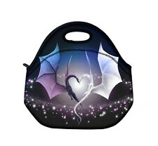 Two Dragons Pattern Travel Picnic Lunch Portable Waterproof Insulated Carry Bag